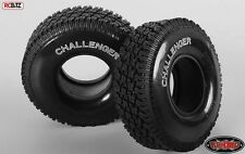 Challenger 1.9 Scale Tread Tires SOFT WHITE lettering Sticky Scaler Tyre Z-T0108