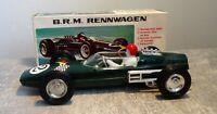 """F.I.A.M. No 202 """"B.R.M. Rennwagen"""", grün, gebr./gut, ca. 15cm, vmtl. um 1970"""