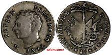 Haiti Western Republic Alexandre Petion Silver AN14 (1817) 25 Centimes KM# 15.1