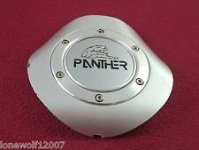 Panther Wheels Silver Custom Wheel Center Cap (1)
