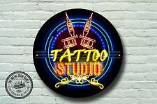 Tatouage enseigne de boutique,signal métallique,MAGASIN signes,Moderne