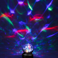 LUCE NOTTURNA rotanti caleidoscopio PRISMA LAMPADA PROIETTORE BABY ROOM sensoriale Autismo