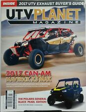 UTV Planet Magazine April May June 2017 Can Am Maverick X3 Max FREE SHIPPING sb