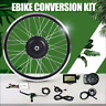 Electric EBike Conversion Kit Front Wheel Motor Hub 36V 350/500W 16-29in 700c