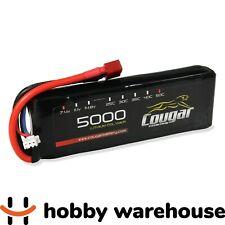 Cougar 5000mAh 7.4v 2S 50C Soft Case LiPo Battery