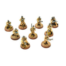 DEATH KORPS OF KRIEG 9 Infantry Squad #7 WELL PAINTED DKOK Warhammer 40K