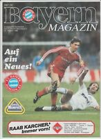 Orig.PRG   EC 1   1986/87  BAYERN MÜNCHEN - AUSTRIA MEMPHIS WIEN  1/8 FINALE  !!