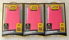CLEARANCE SALE!!!  LOT OF 3  OtterBox Commuter Case for Droid Ultra  pink