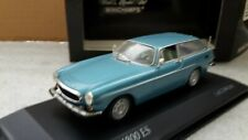 Minichamps ref 430 171610 volvo p 1800 es 1971 ice blue metallic new in box