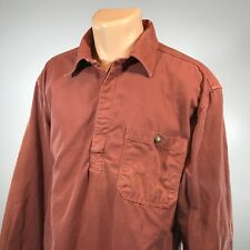 The Territory Ahead L Mens Shirt Size Large Long Sleeve Red