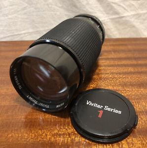 Vintage Vivitar Series 1 70-210mm f3.5 Macro Focusing Zoom Pentax K Mount Tokina