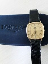 Vintage Gold Plated Longines 'King Hussein of Jordan'  Quartz Watch SN,20656761