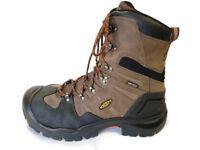 """Keen Coburg (1007833) Men's 8"""" Waterproof Brown Leather Work Boots"""