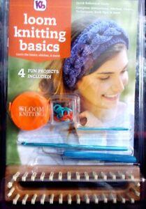 Knitting Board  Loom Knitting Basics Kit  32-Peg Loom + Patterns & Accessories