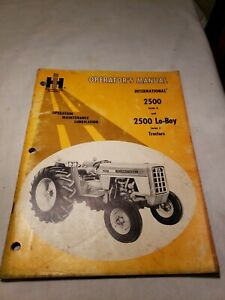International 2500 Lo Boy Tractor Operators Manual 1082838R1 4-71