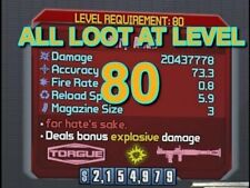 Borderlands 2 Max Level in seconds (LV 80) PS4