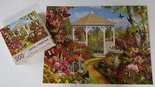 Bits and Pieces 500 Piece Jigsaw Puzzle Butterfly Garden 2 Alan Giana Art Flower