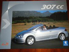 Peugeot 307CC Press brochure Mar 2003 English text