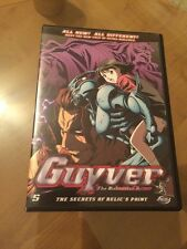 xy4 - Guyver: The Bio-Boosted Armor - Vol.5: Secret of Relic's Point (DVD,2007)