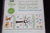 "Disney Baby ""POOH & FRIENDS"" Decorative Wall Decals Removable Tigger Winnie NEW"