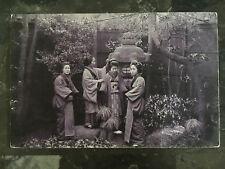 1913 Tsingtau China RPPC Real Picture Postcard Cover to Germany 4 Women
