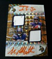 E26 2019 Spectra Irv Smith Jr Alexander Mattison GOLD /15 RC RPA VIKINGS