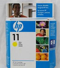 New Genuine HP 11 Yellow Ink Cartridge