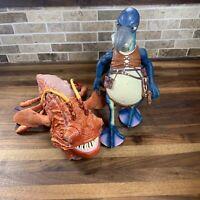 Star Wars Naboo Opee Sea Killer Fish Monster & Watto Figure Phantom Menace