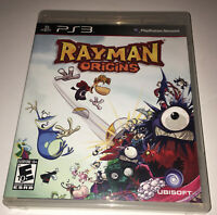 Rayman Origins Sony Playstation 3 PS3 Complete Disc Is Mint Tested 2A