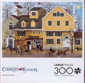 Charles Wysocki 300 Pc Buffalo Games Jigsaw The Bookstore NIB