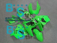 Green ABS Fairing Bodywork Plastic Kit Kawasaki Ninja ZX-9R 2000-2001 005 D2