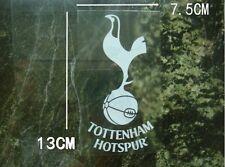 2 PC FUN decal FC Tottenham Internal Car window Sticker Clear White