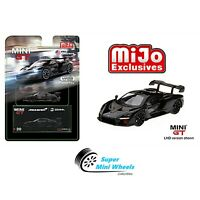 Mini GT McLaren Senna (Black) 1:64 MiJo Exclusives