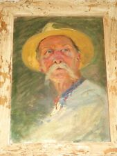 Andrei LYSENKO (1916-2000) TABLEAU PORTRAIT HOMME RUSSE RUSSIE Лысенко Андрей