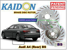 "AUDI A4 disc rotor KAIDON (Rear) type ""BS"" / ""RS"" spec"