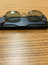 """Rare Oliver Peoples   sunglasses""""Fred"""" Oval Full Rim"""