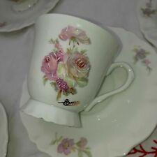 Rare service à café Coquet porcelaine de Limoges 21 pièces shabby chic #limoges