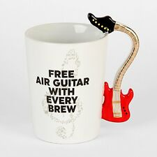 Novelty Musicology Music Mug Guitar Trumpet Violin Piano Trumpet Drumsticks