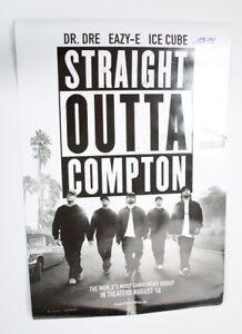 GFA Straight Outta Compton ICE CUBE Signed Movie Poster PROOF COA