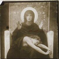 Francia Museo c1910 Foto Stereo Un Cruscotto Placca Da Lente VR12b1