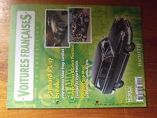 $$ Fascicule Voitures francaise N°124 Panhard PL 17 break  Peugeot 306 Maxi