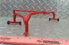 1/64 standi farm toy red triple grain drill planter rake hitch Plastic ertl