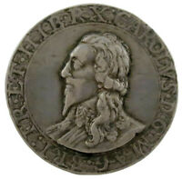 King Charles I,  Silver Medal, by Thomas Rawlins FREE SHIPPING