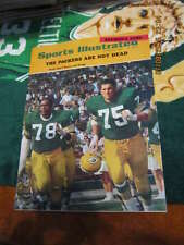 1968 10/28 Gregg & Brown Green bay Packers Sports Illustrated Newsstand nm s