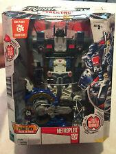 Transformers 2006 Cybertron Metroplex Leader Class Figure w/ Box & Key