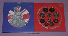 2004 ROYAL MINT BRILLIANT UNCIRCULATED SET OF COINS - Low Issue Set