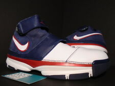 2007 Nike Zoom KOBE II 2 ST STRENGTH USA OLYMPIC WHITE BLUE RED 316835-411 DS 11