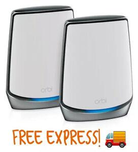 Netgear Orbi RBK852 AX6000 Tri-Band Mesh WiFi 6 System *2Pack*