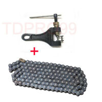 428 140 Links Chain 150cc 125cc 250cc 140cc ATV QUAD DIRT BIKE + Chain Breaker
