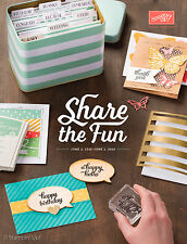 Stampin' Up! Annual Catalog 2015-2016